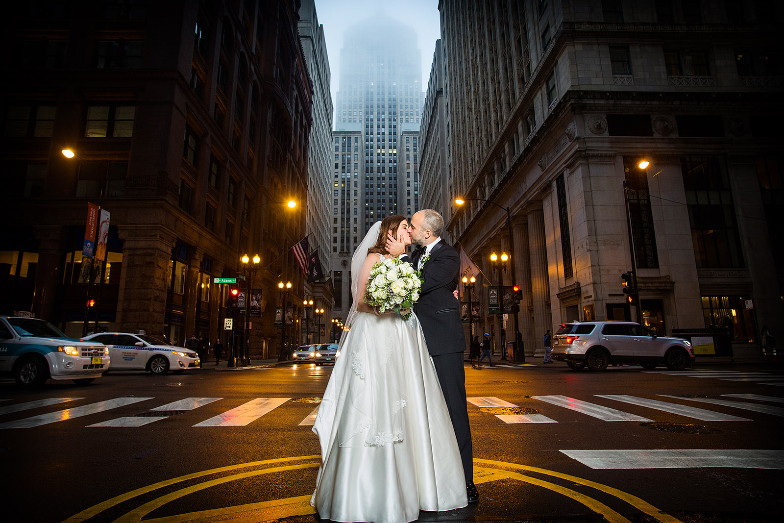 Bride Groom Board of Trade Chicago