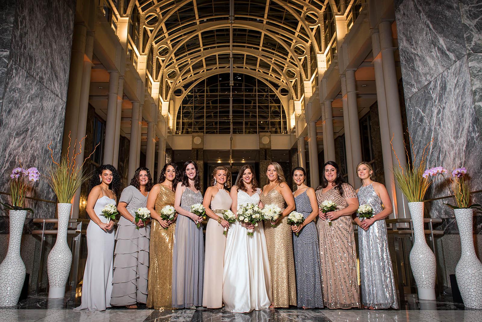 Bride Bridesmaids Pazzos 311