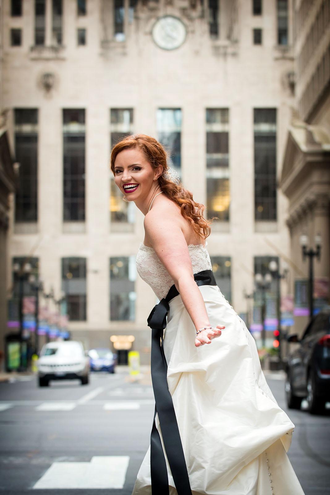 Board Of Trade Bride LaSalle Street Chicago