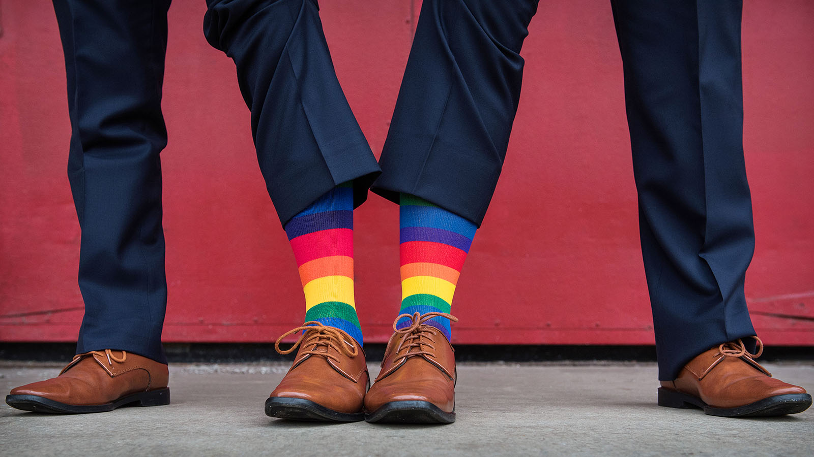 Rainbow Socks Gay Marriage