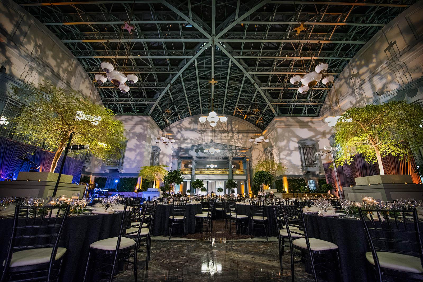 Harold Washington Library Chicago Wedding Reception