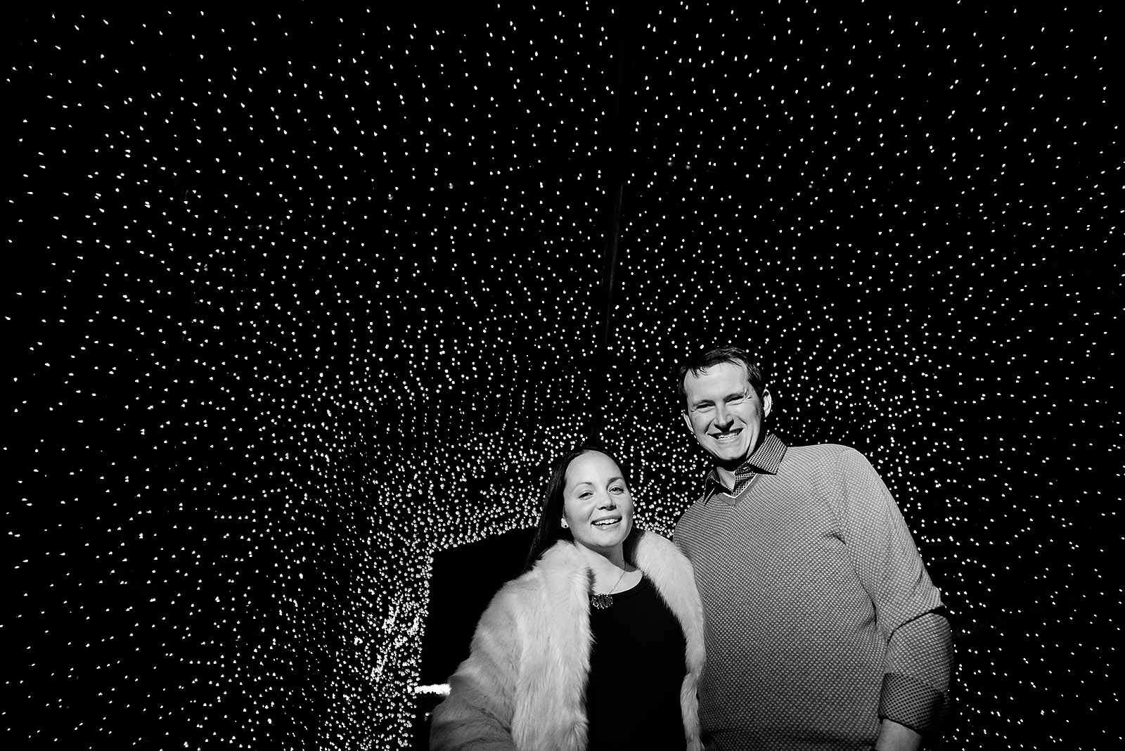 Engagement Session Chicago Lincoln Park Zoo Lights