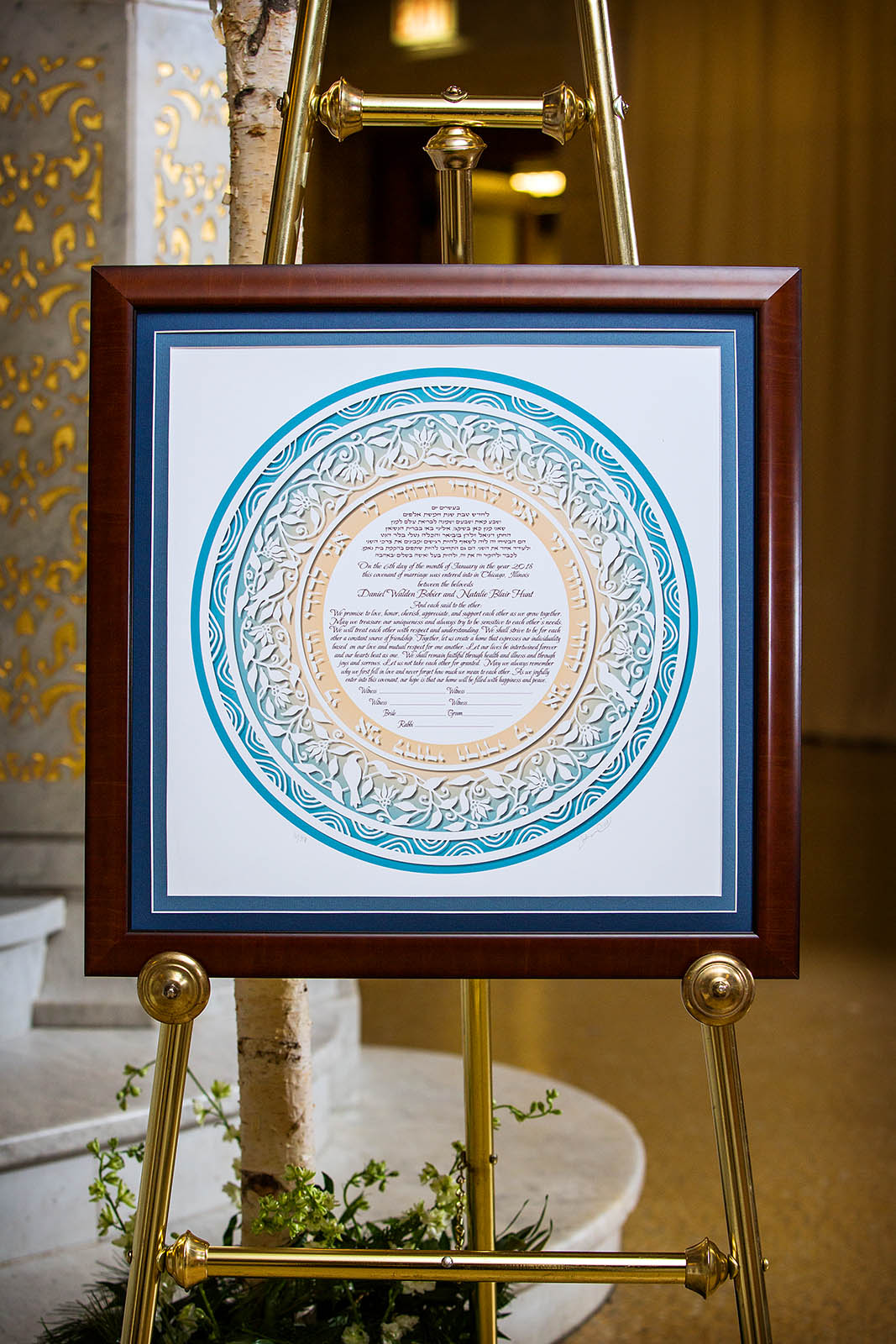 Wedding Ketubah Jewish Wedding