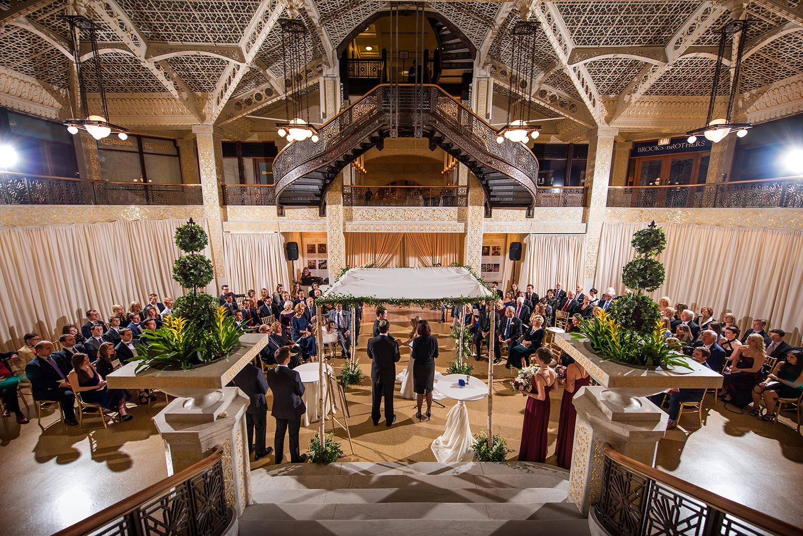 Photo Wedding Ceremony Venue Rookery Chicago