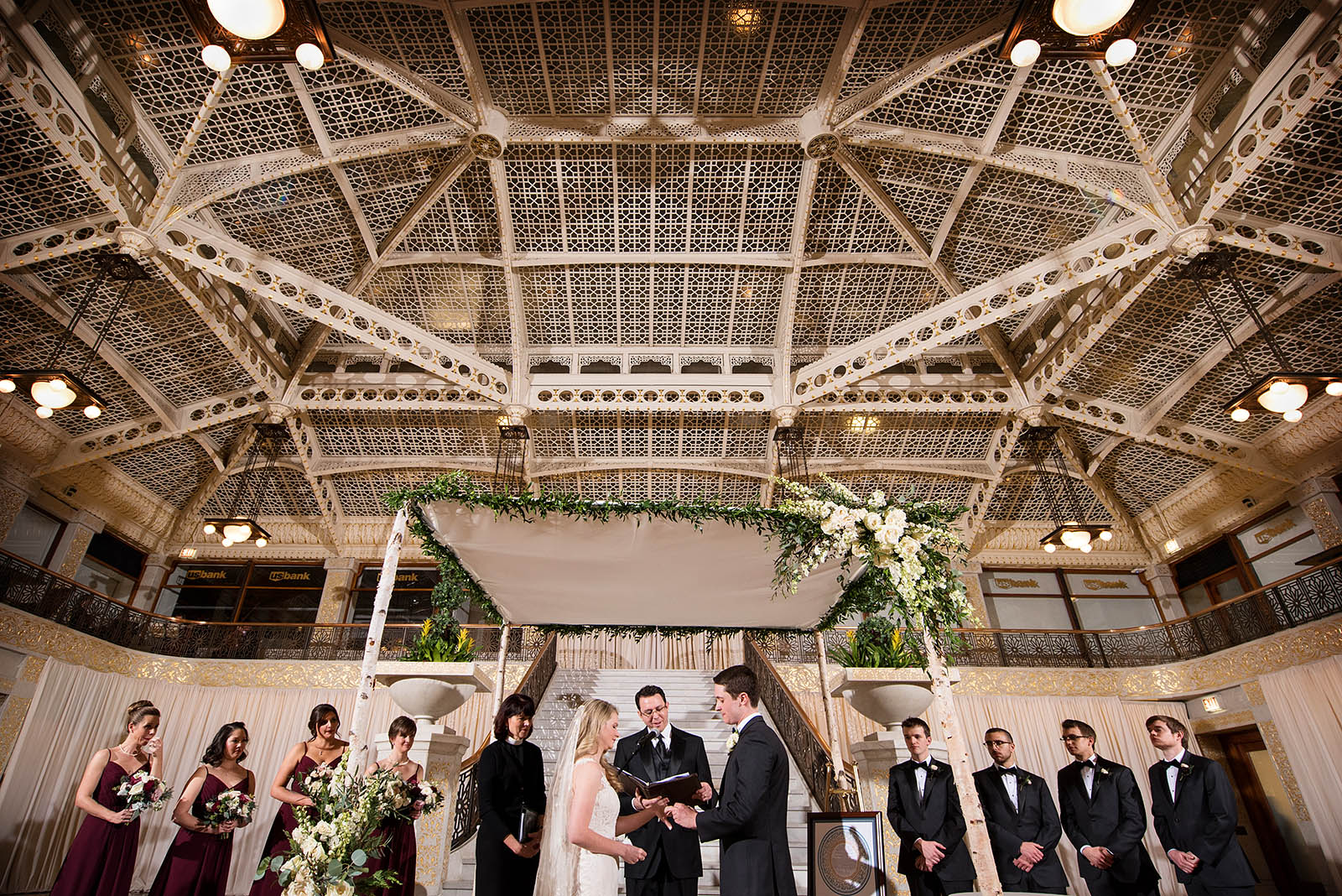 Jewsish Wedding Huppah Rookery Chicago