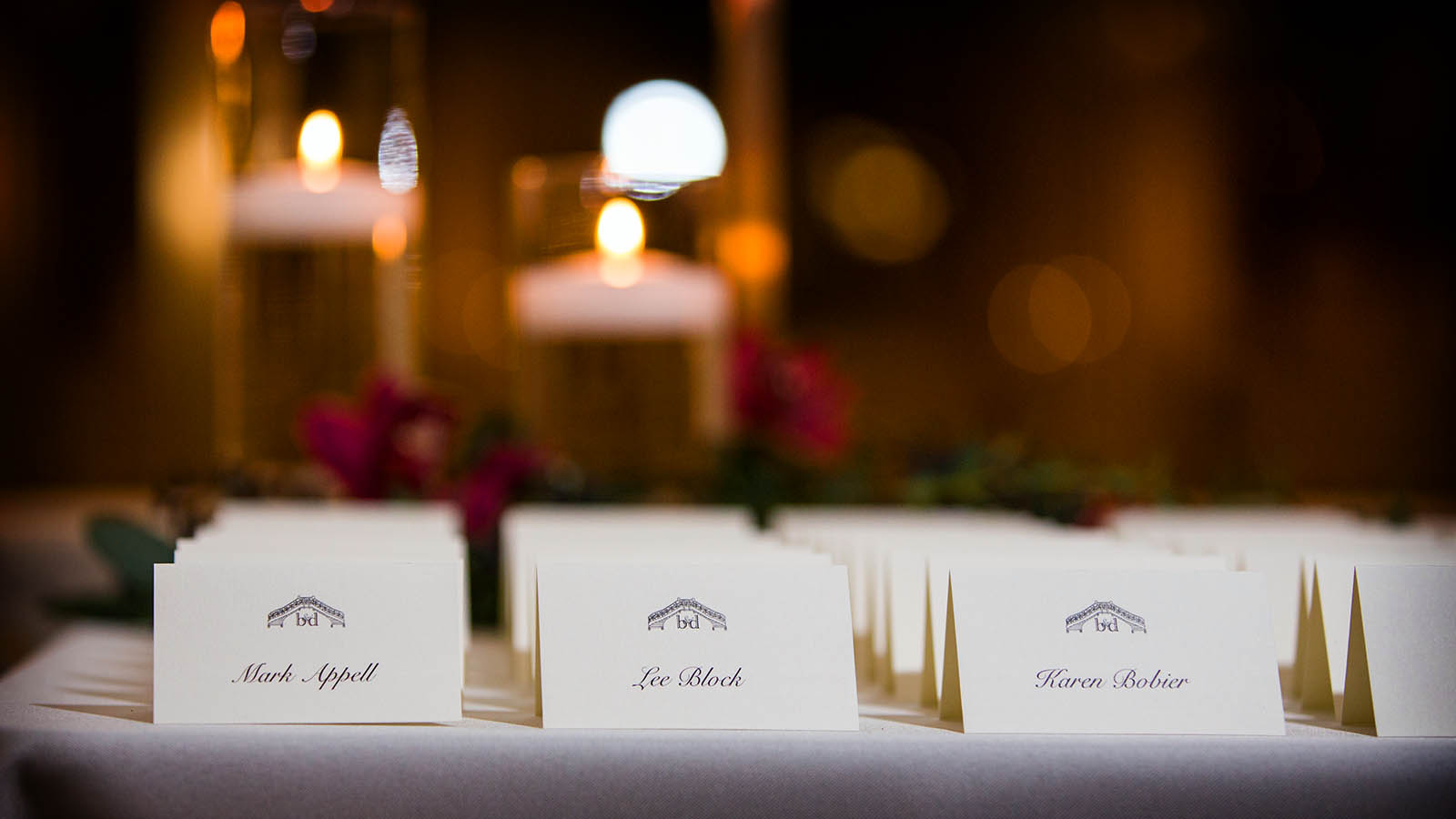 Table Cards Wedding Reception Rookery