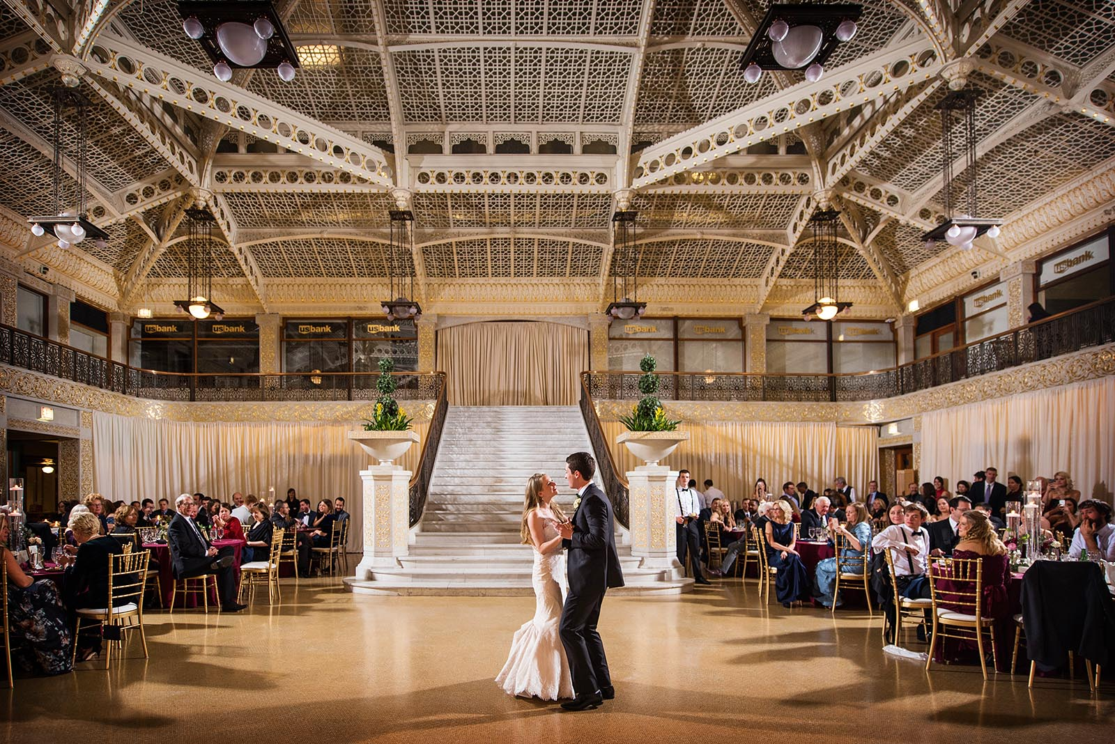First Dance Rookery Wedding Reception