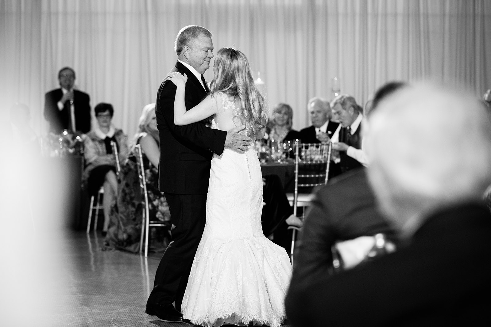 Bride Father Dance Rookery Chicago