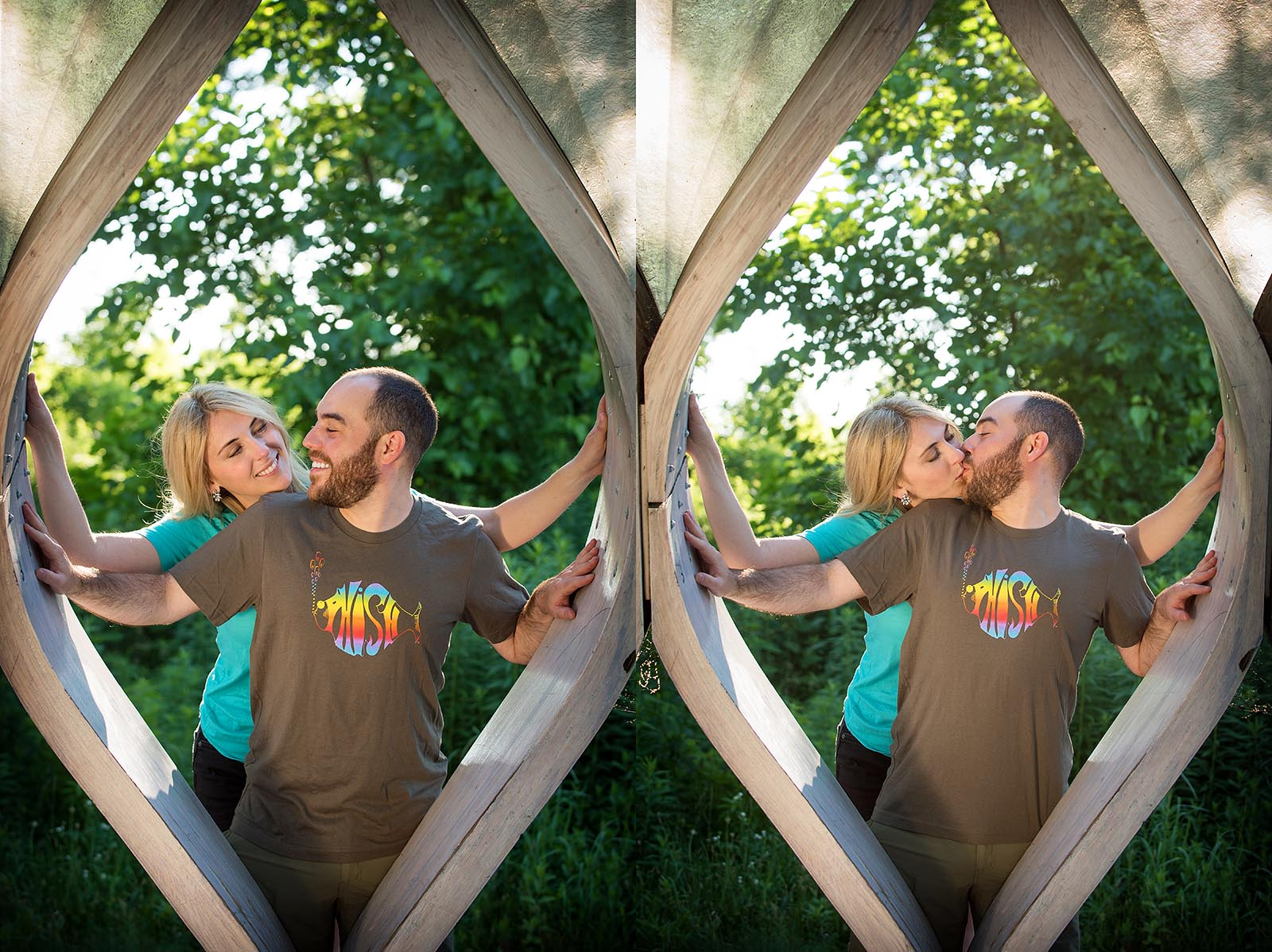 Phish Fan Engagement Wedding Pictures