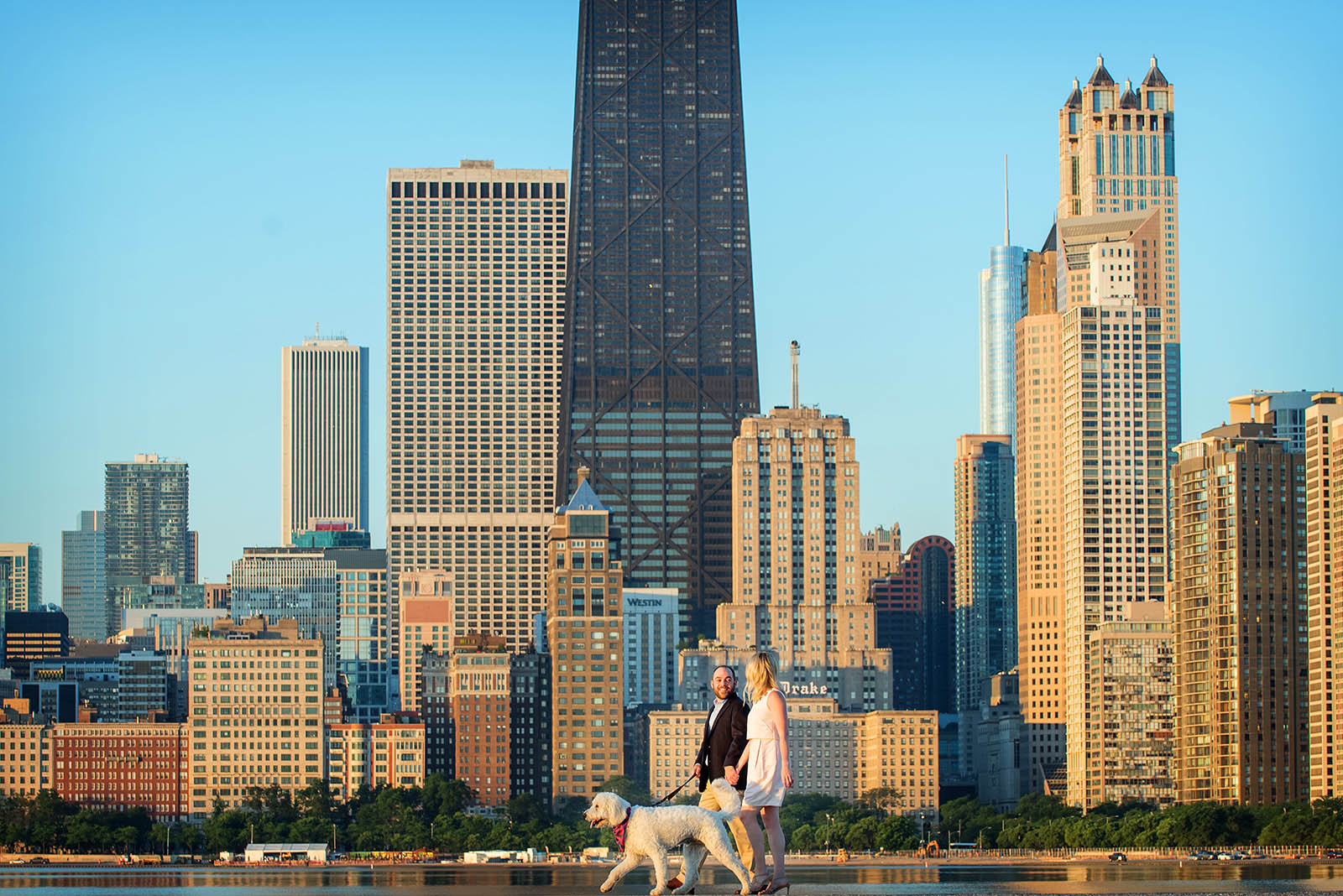 North Avenue Chicago Engagement Photography