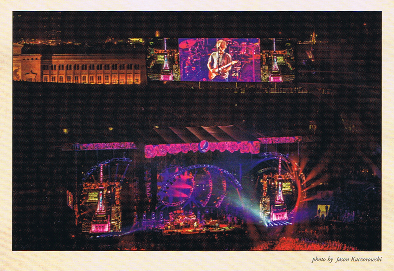 Jason Kaczorowski Program GD50 Fare Thee Well Grateful Dead