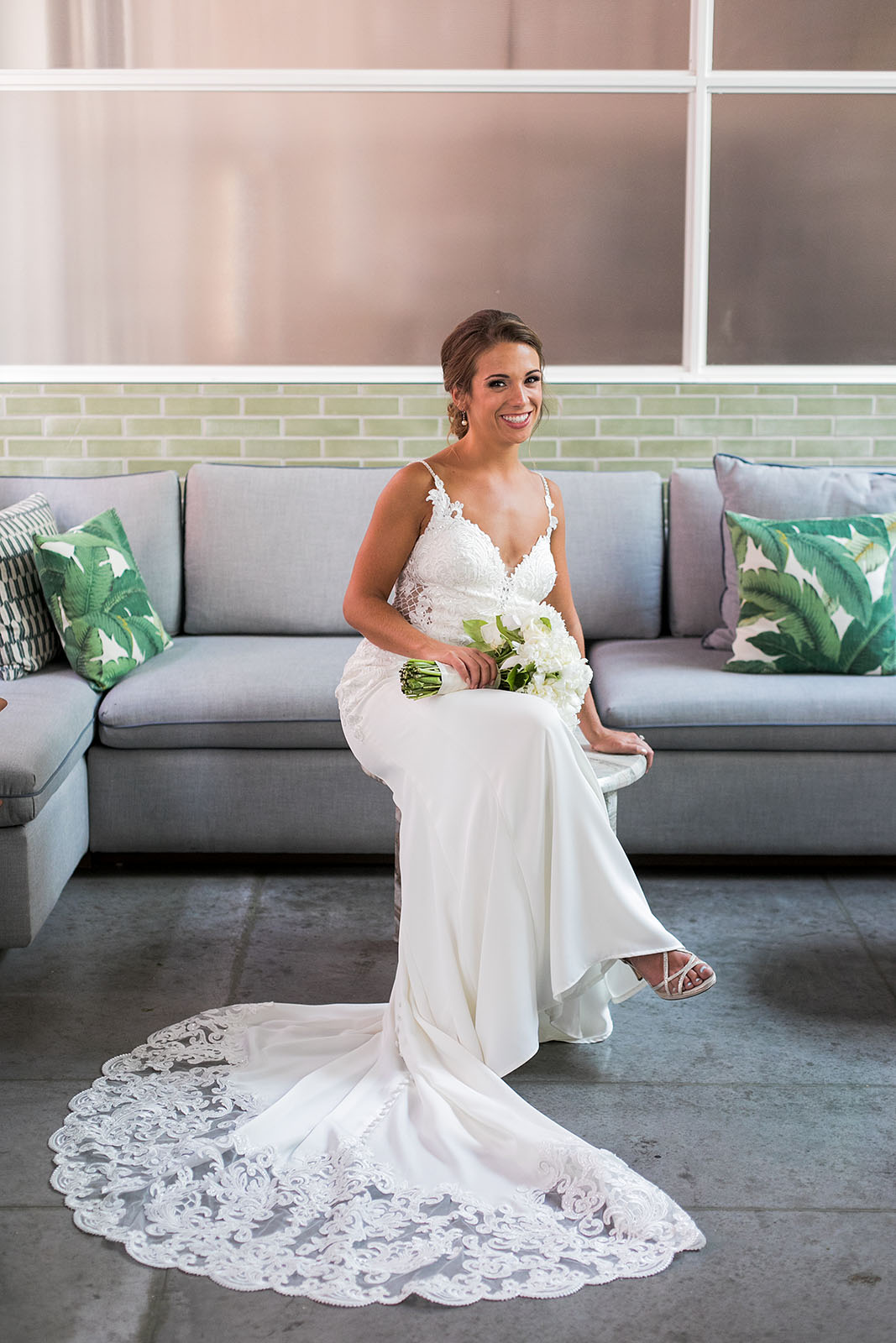 Stunning Luxury Bride Kimpton Gray Chicago