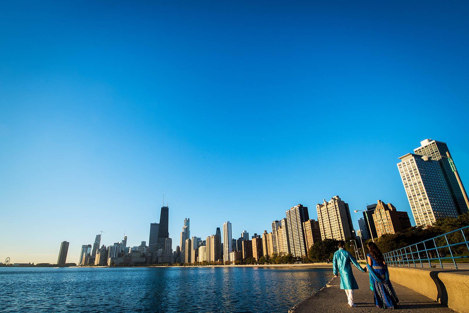 Chicago Sunrise Engagement Photos