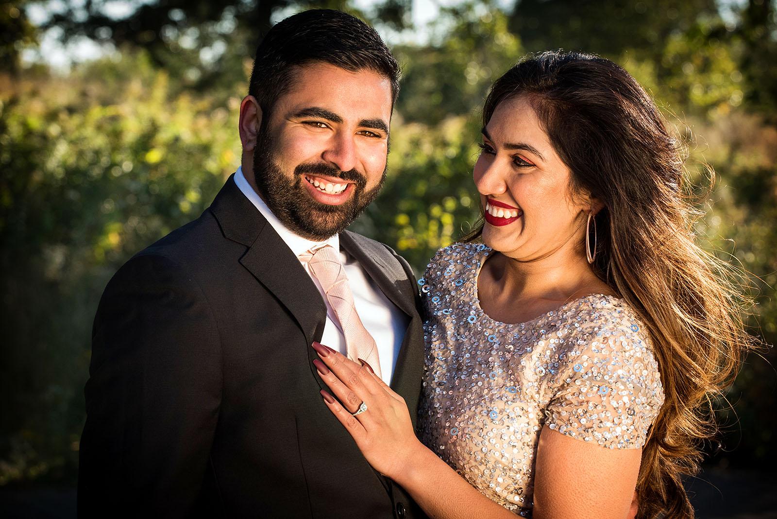 Indian Pakistani Engagement Photography
