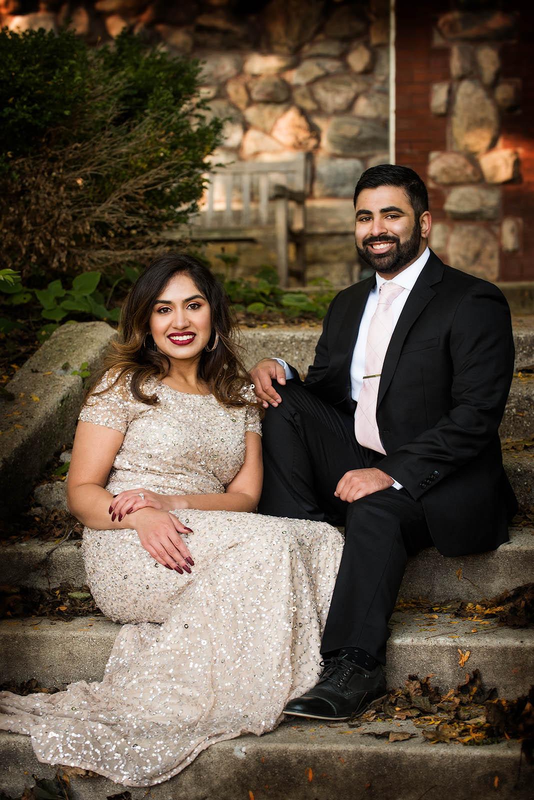 Chicago Pakistani Engagement Photographer