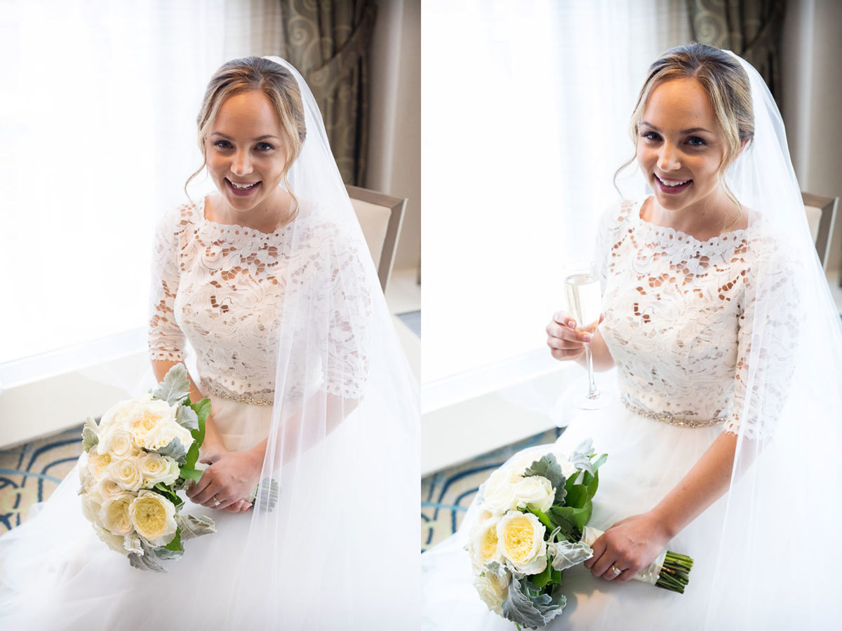Bride Photo Hotel Orrington Wedding