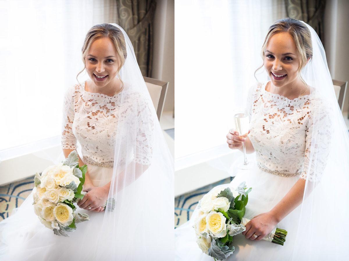 Bride Photo Hotel Orrington Wedding