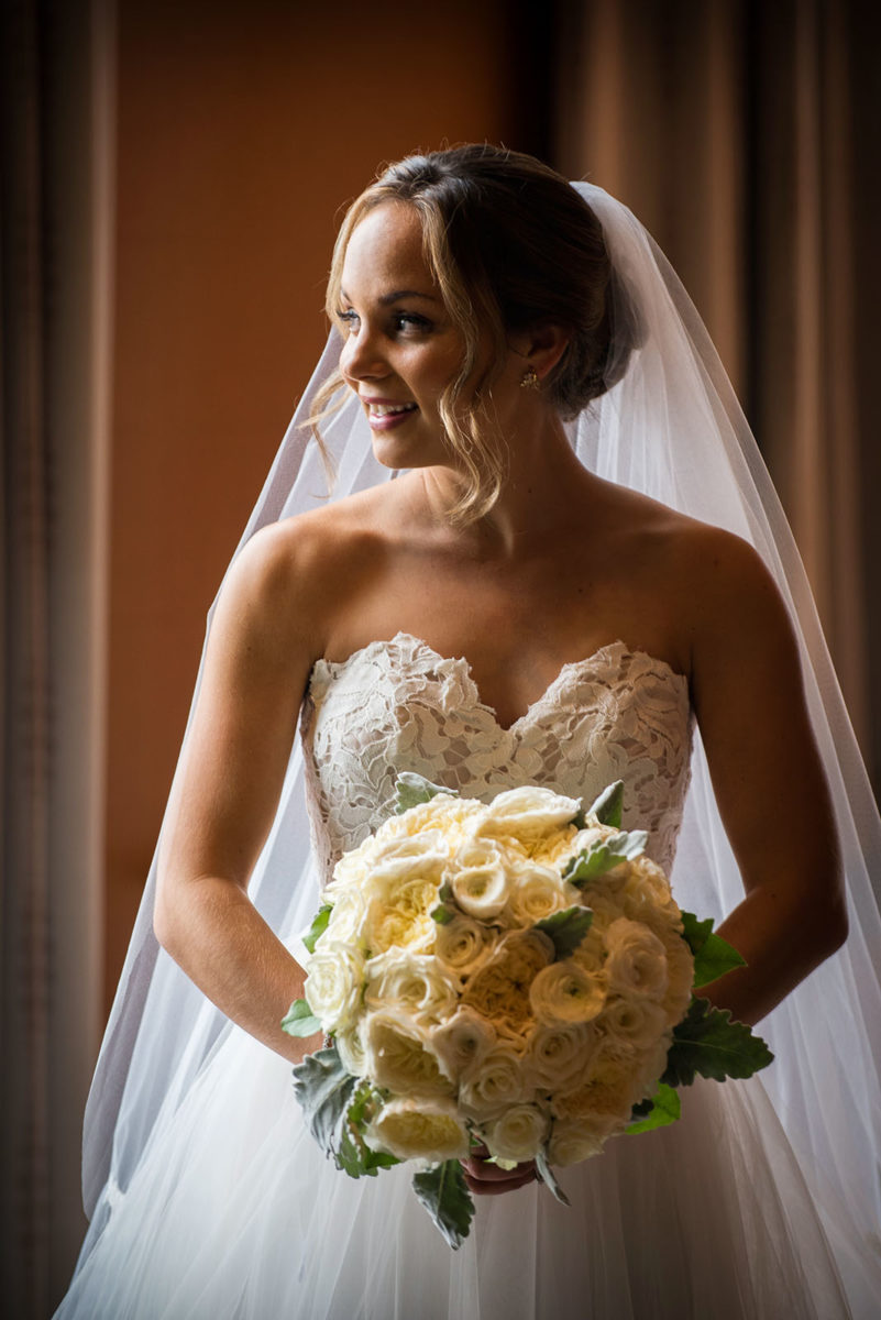 beautiful bride hotel orrington Evanston Illinois