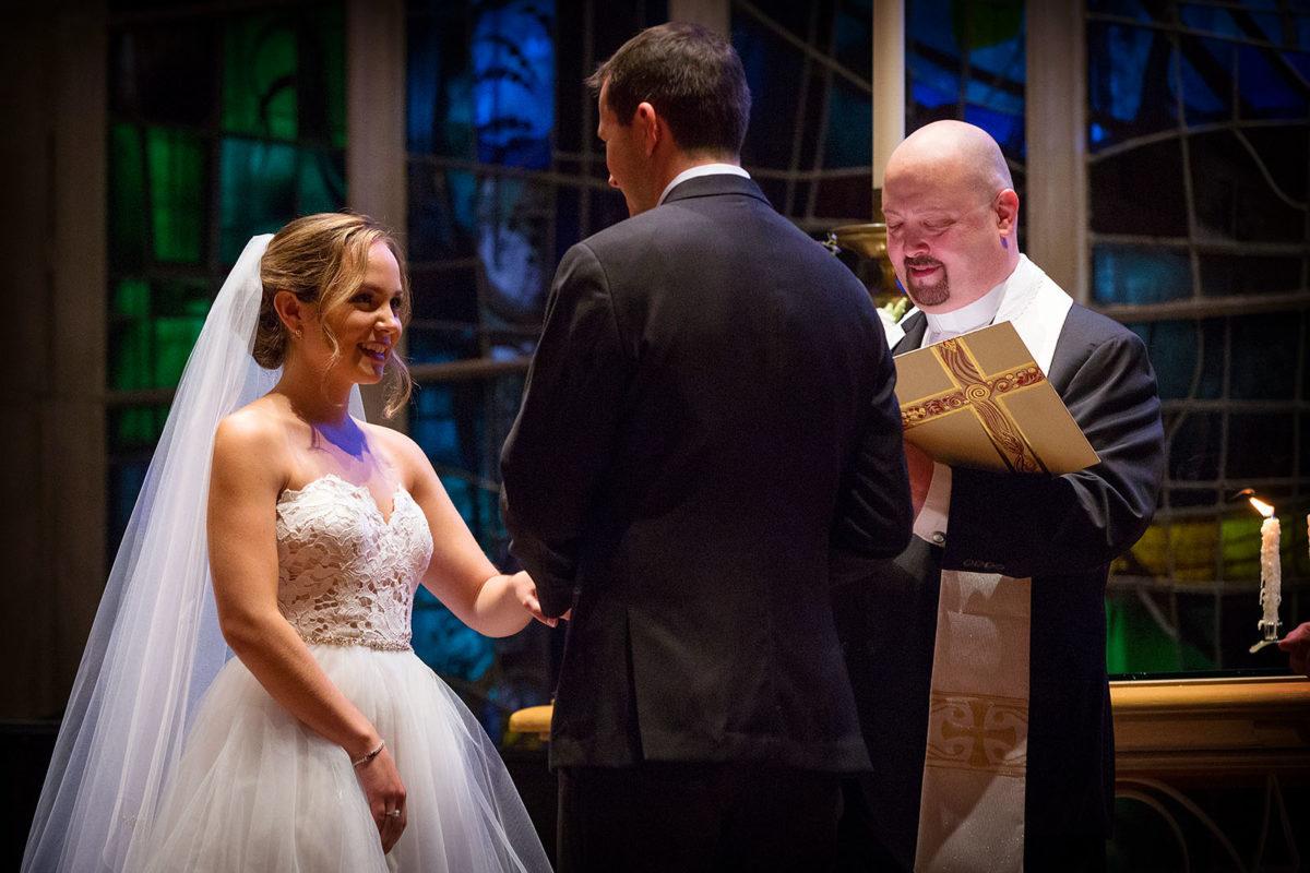 Ring Exchange Groom Bride