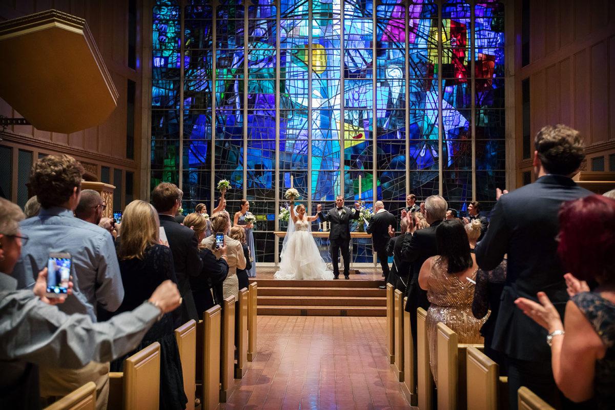 Bride Groom Ceremony Recessional