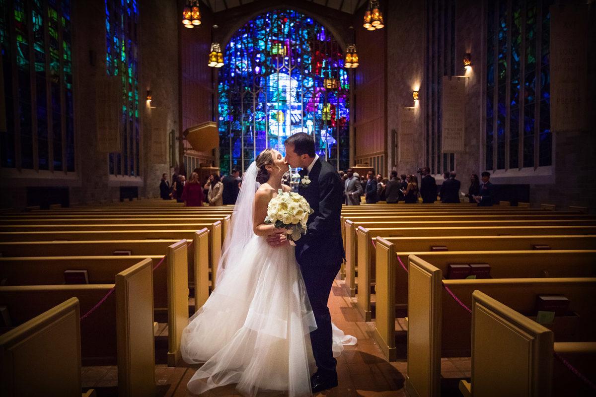 Bride Groom Wedding Kiss Alice Millar