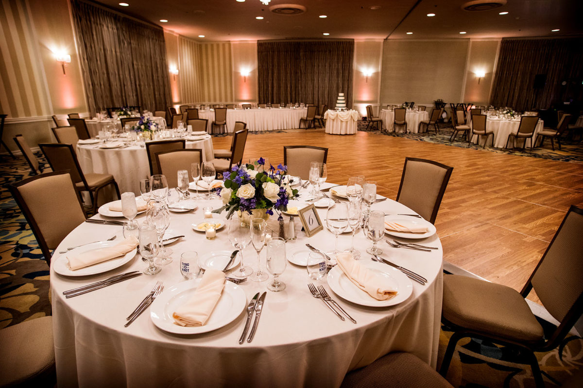 Hotel Orrington Wedding Reception