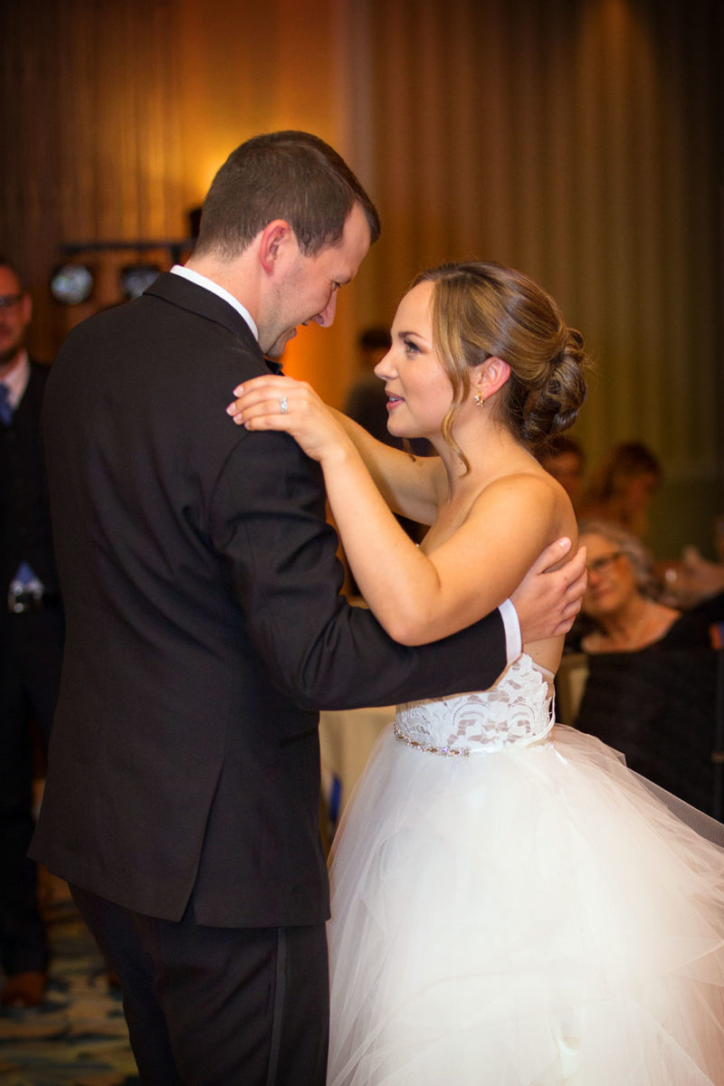 Wedding First Dance Hotel Orrington Evanston
