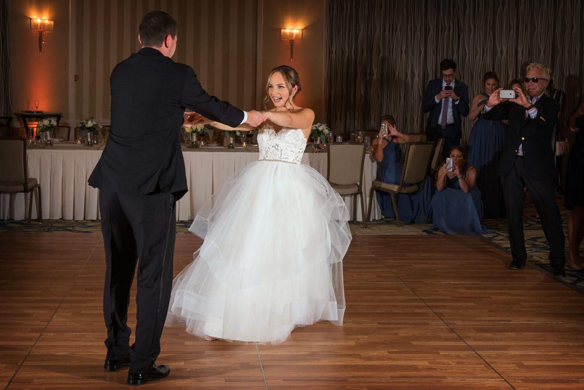 Wedding Reception First Dance Hotel Orrington