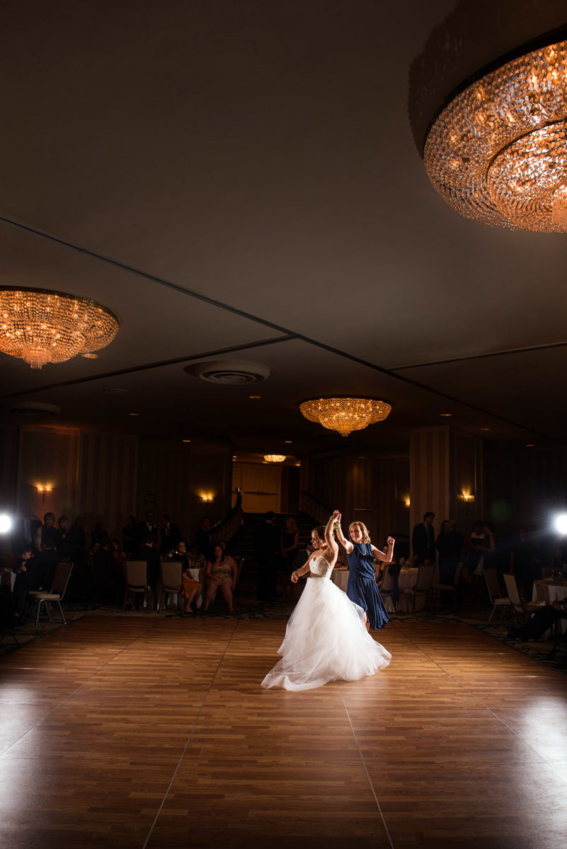 Mother Bride Dancing Hotel Orrington Evanston