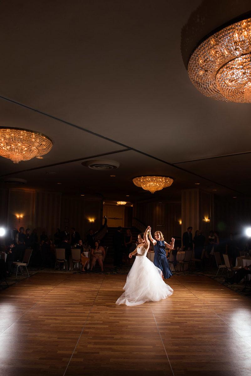 Mother Bride Dancing Hotel Orrington Evanston