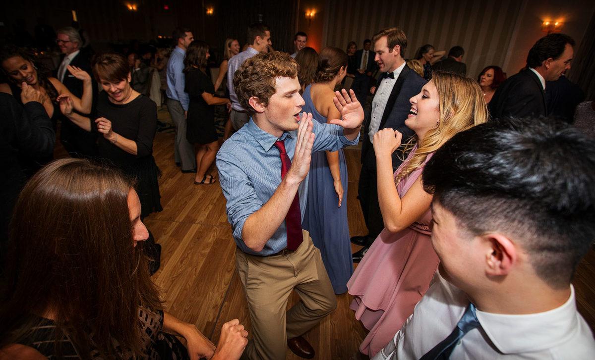 Hotel Orrington Wedding Dance