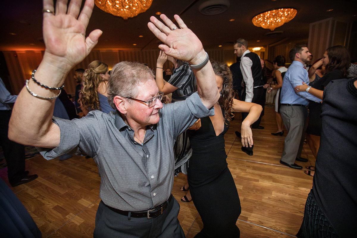 Hotel Orrington Wedding Reception Dance