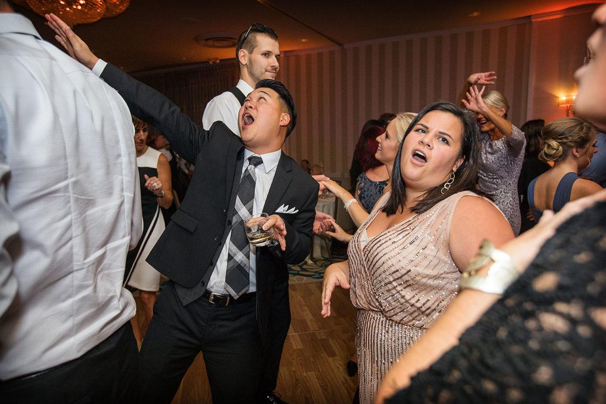 Hotel Orrington Reception Dance Floor