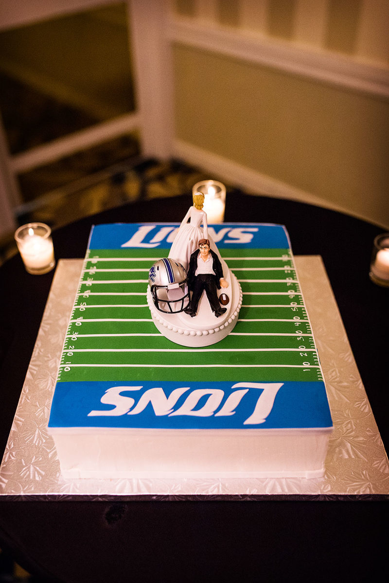 Bittersweet Pastry Chicago Grooms Cake Detroit Lions