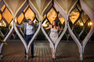 Nature Boardwalk Lincoln park Zoo South Pond Engagement Session