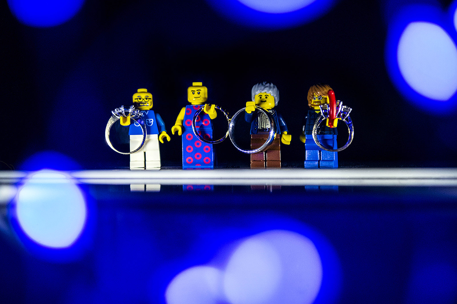 Phish Lego Wedding Rings